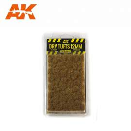 AK Interactive tufts, Dry tufts 12mm