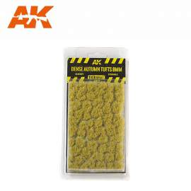 AK Interactive tufts, Dense autumn tufts 8mm