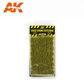 AK Interactive tufts, Dense spring tufts 8mm