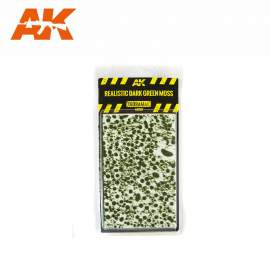 AK Interactive tufts, Realistic dark green moss