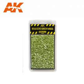 AK Interactive tufts, Realistic green moss