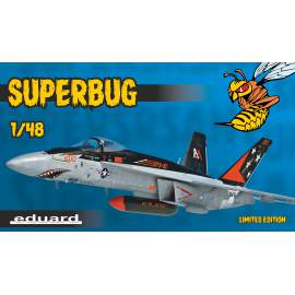 Eduard Limited edition 1:48 Superbug repülő makett