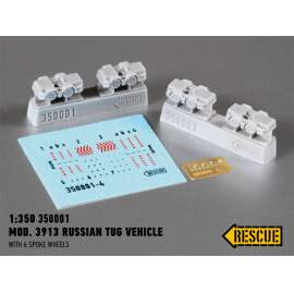 Rescue 1:350 Mod. 3913 Russian tug vehicle (with 6 spoke wheels)