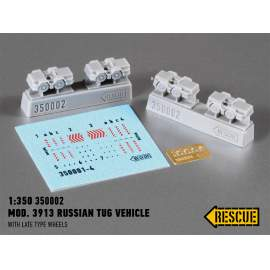 Rescue 1:350 Mod. 3913 Russian tug vehicle (with late type wheels)