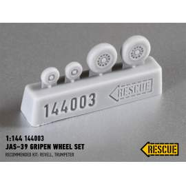 Rescue 1:144 JAS-39 Gripen wheel set