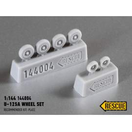 Rescue 1:144 U-125A wheel set