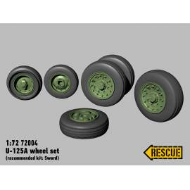 Rescue 1:72 U-125A wheel set