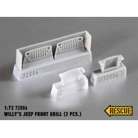 Rescue 1:72 Willy´s Jeep front grill (2 pcs.)
