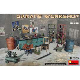 Miniart 1:35 Garage Workshop