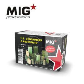 MIG Productions 1:35 U.S. Containers & Recipients