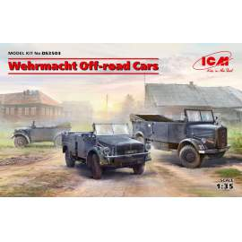 ICM 1:35 Wehrmacht Off-road Cars