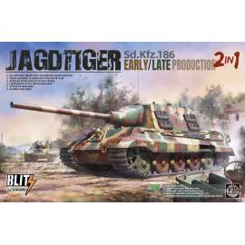 Takom 1:35 Jagdtiger early/ late 2in1 Sd.Kfz.186