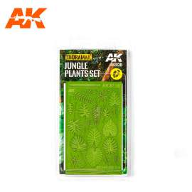 AK Interactive Jungle Plants Set