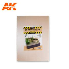 AK Interactive Extruded foam 30mm A4 size