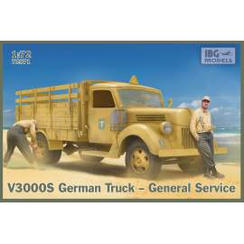 IBG Model 1:72 V3000S German Truck-General Service