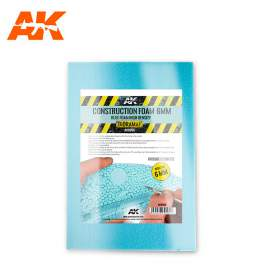 AK Interactive Construction blue foam 6mm in 195X295mm size
