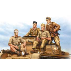 Hobbyboss 1:35 German Tropical Panzer Crew
