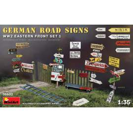 Miniart 1:35 German Road Signs WW2 (Eastern Front Set 1)