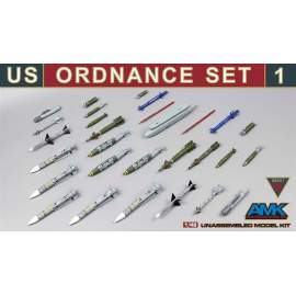 AMK 1:48 US Ordnance Set #1