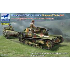 Bronco 1:35 Hungarian CV-35.M/CV-35 Command Tank (2in1)