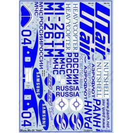 Begemot 1:72 Mil Mi-26 ´Halo´