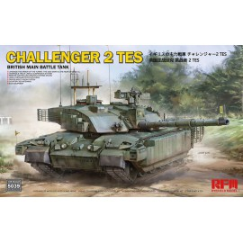 Ryefield model 1:35 British main battle tank Challenger 2 TES w/workable tr