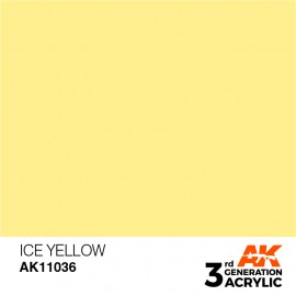 Acrylics 3rd generation Ice Yellow 17ml