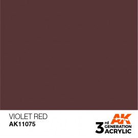 Acrylics 3rd generation Violet Red 17ml