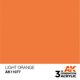 Acrylics 3rd generation Light Orange 17ml