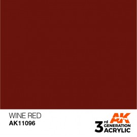 Acrylics 3rd generation Wine Red 17ml