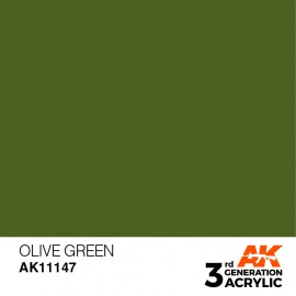 Acrylics 3rd generation Olive Green 17ml