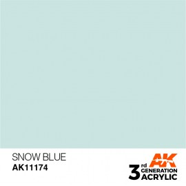 Acrylics 3rd generation Snow Blue 17ml