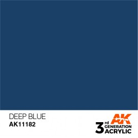 Acrylics 3rd generation Deep Blue 17ml