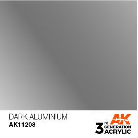 Acrylics 3rd generation Dark Aluminium 17ml