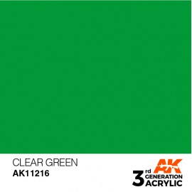 Acrylics 3rd generation Green 17ml