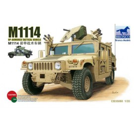 Bronco Models 1:35 M1114 Up-Armored Tactical Vehicle