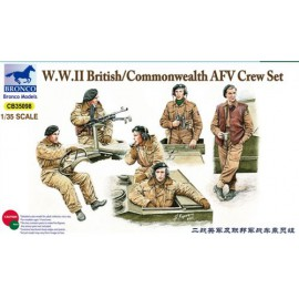Bronco 1:35 WWII British/Commonwealth AFV Crew set