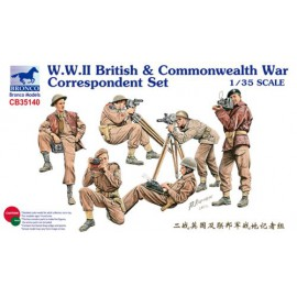 Bronco 1:35 W.W.II British & Commonwealth War Correspondent Set