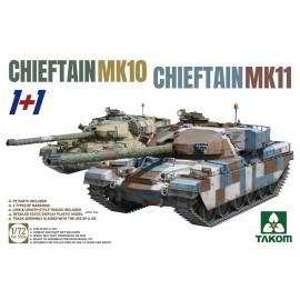Takom 1:72 Chieftain Mk.10 + Mk.11 (2 kits Combo)