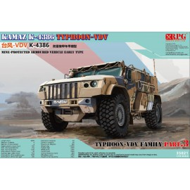 RPG Model 1:35 Typhoon VDV K-4386 Mine-Protected Armoured Vehicle Early Typ