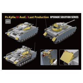 """Ryefield model 1:35 """"The Upgrade solution"""" for 5033 & 5043 Pz.kpfw.IV Ausf."""