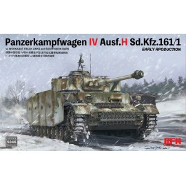 Ryefield model 1:35 Pz.kpfw.IV Ausf.H early production w/workable track lin