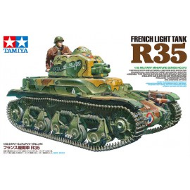 Tamiya 1:35 French Light Tank R35