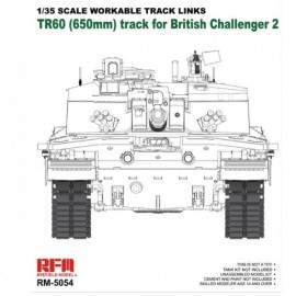 Ryefield model 1:35 Workable track links for Challenger 2