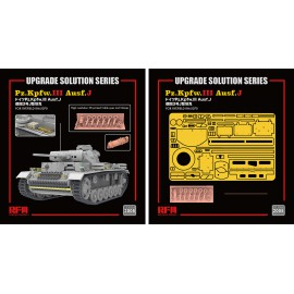 "Ryefield model 1:35 ""The Upgrade solution"" for 5070 Panzer III Ausf.J"