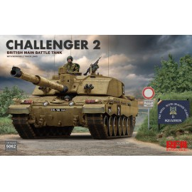 Ryefield model 1:35 British main battle tank Challenger 2 w/workable track