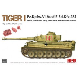 Ryefield model 1:35 Tiger I initial production early 1943 (Updated from 5001)