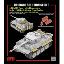 "Ryefield model 1:35 ""The Upgrade solution"" for 5001 & 5050 Tiger I initial production"