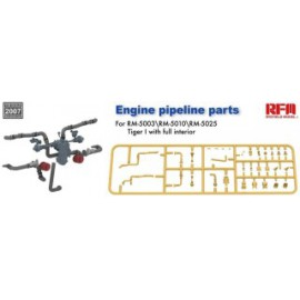 "Ryefield model 1:35 ""The Upgrade solution"" engine pipeline parts for RM5003 RM5010 RM5025"