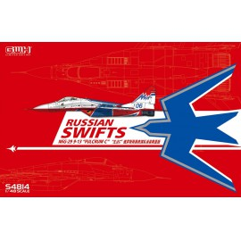 "Great Wall Hobby 1:48 Mig 29 9-13 ""Fulcrum C"" Russian Swifts With Special Mask"